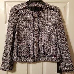 💙Zara Jacket Blazer Tweed Grey Size M💙